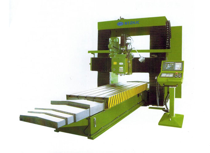 DSK Series Simple CNC gantry milling machine (pillar type)
